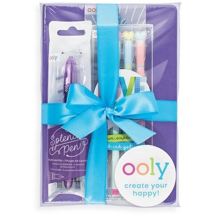 Art Supplies - OOLY Giftables - Writers Desk Writing Gift Set