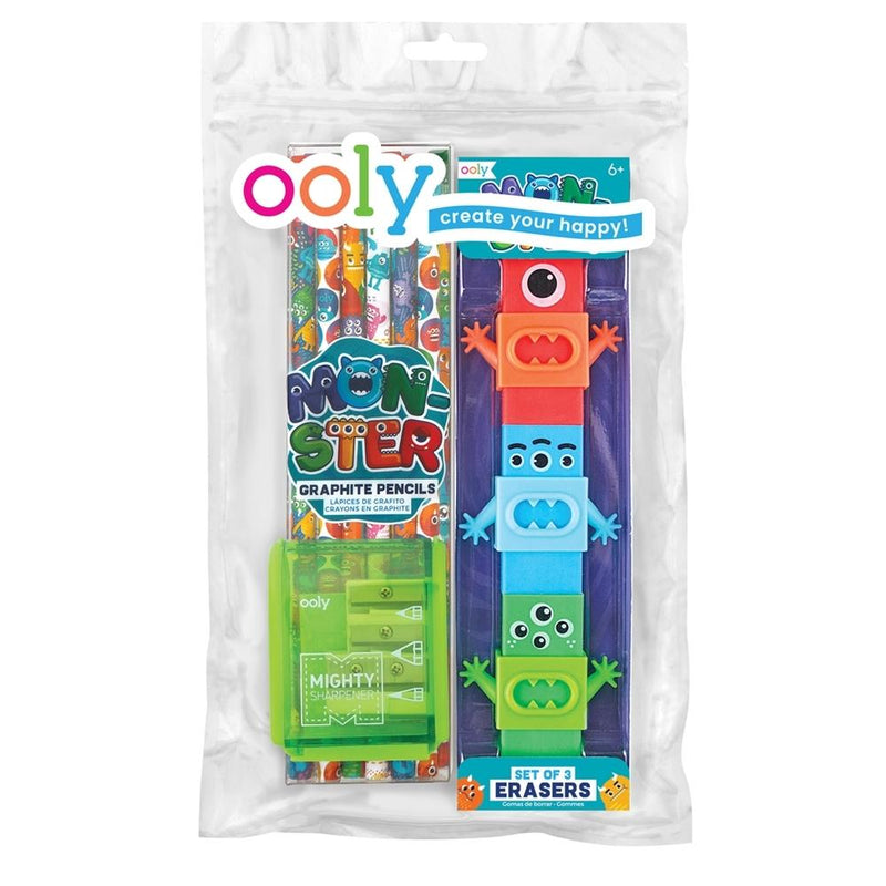Art Supplies - OOLY Monsters Happy Pack