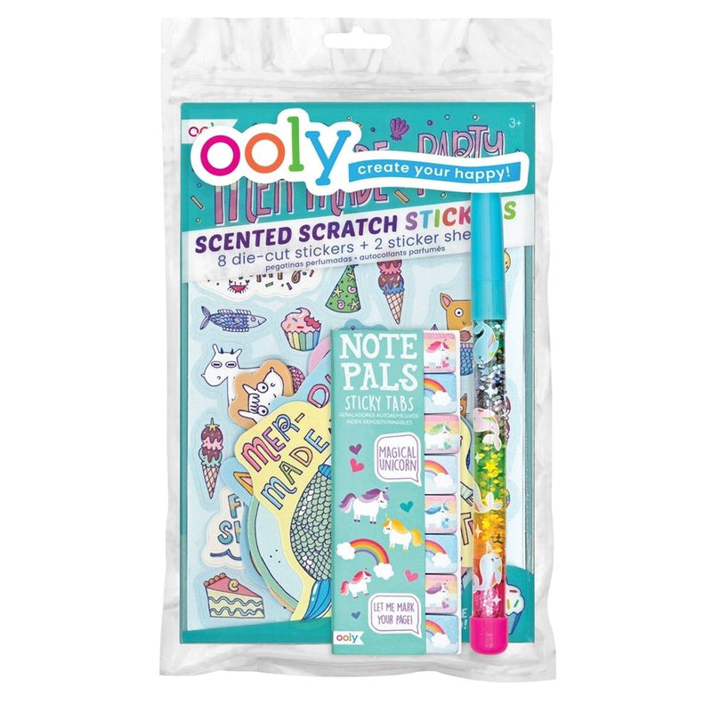 Art Supplies - OOLY Unicorn & Mermaid Party Happy Pack
