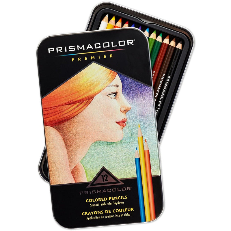 Prismacolor Premier Colored Pencils- Set of 12 - Art supplies - Anglo Dutch Pools and Toys
