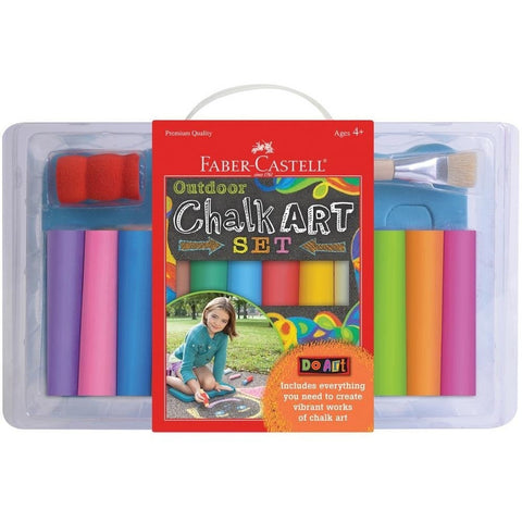 Faber-Castell Do Art Outdoor Chalk Art Set - Backyard Fun and Games - Anglo Dutch Pools and Toys