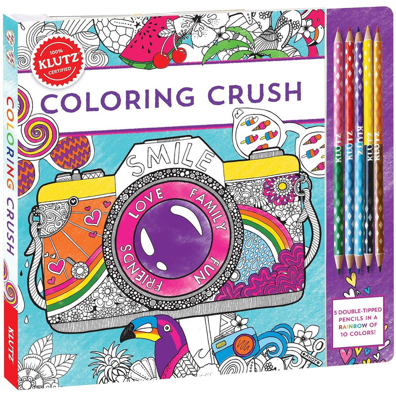 Klutz Coloring Crush - Craft Kits - Anglo Dutch Pools and Toys