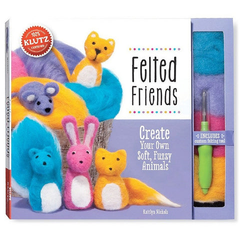 Klutz Felted Friends - Craft Kits - Anglo Dutch Pools and Toys