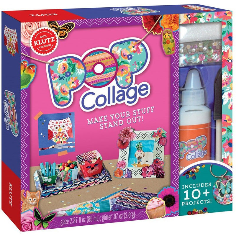 Klutz Pop Collage- - Anglo Dutch Pools & Toys  - 1