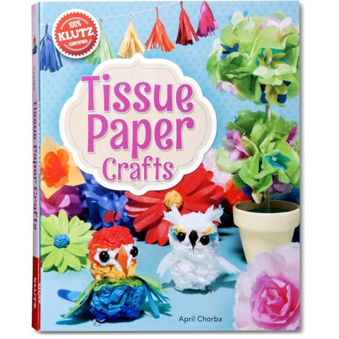 Klutz Tissue Paper Crafts- - Anglo Dutch Pools & Toys  - 1