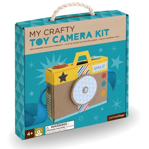 Petit Collage My Crafty Toy Camera Kit- - Anglo Dutch Pools & Toys  - 1