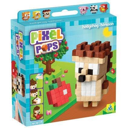 Pixel Pops Hedgehog - Craft Kits - Anglo Dutch Pools and Toys