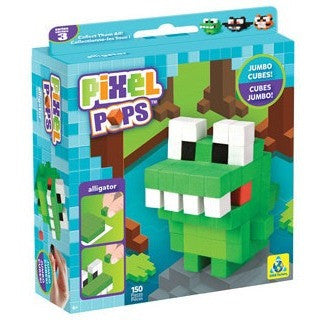 Pixel Pops Jumbo Alligator - Craft Kits - Anglo Dutch Pools and Toys