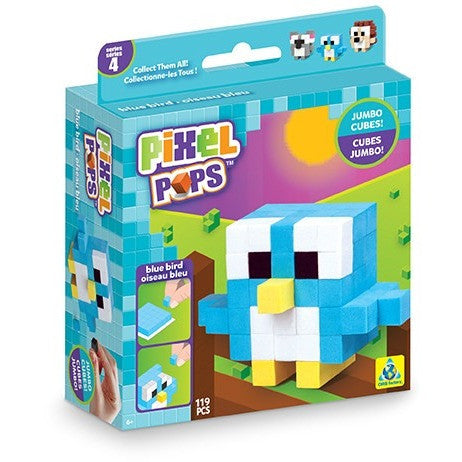 Pixel Pops Jumbo Blue Bird - Craft Kits - Anglo Dutch Pools and Toys