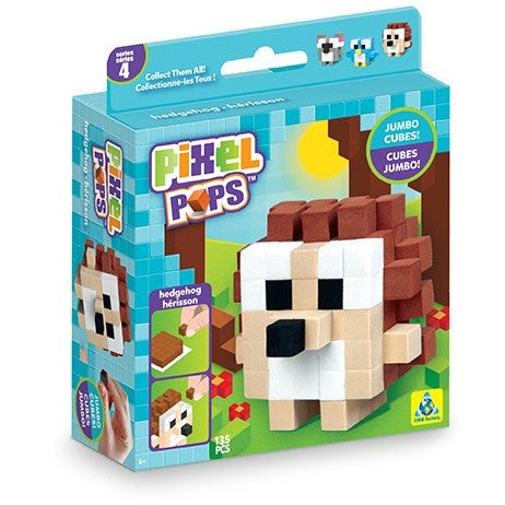 Pixel Pops Jumbo Hedgehog - Craft Kits - Anglo Dutch Pools and Toys