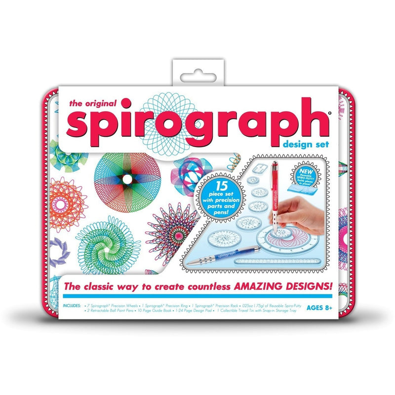 Spirograph Design Tin Set - Craft Kits - Anglo Dutch Pools and Toys