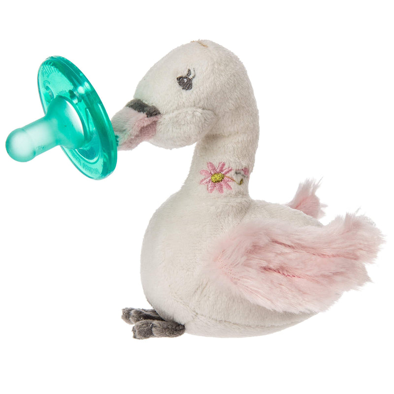 Baby And Infant Accessories - Mary Meyer Wubbanub Itsy Glitzy Swan Pacifier