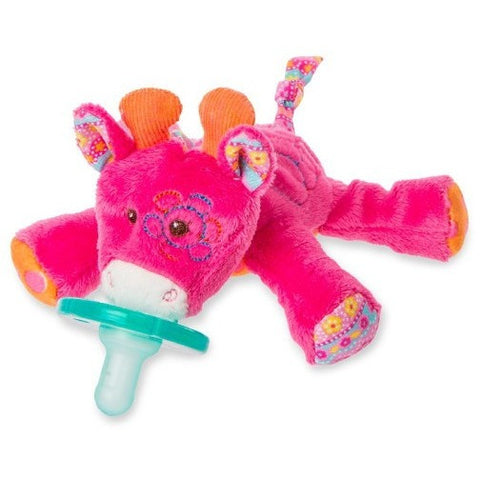 Mary Meyer Wubbanub Jasmine Giraffe Pacifier- - Anglo Dutch Pools & Toys