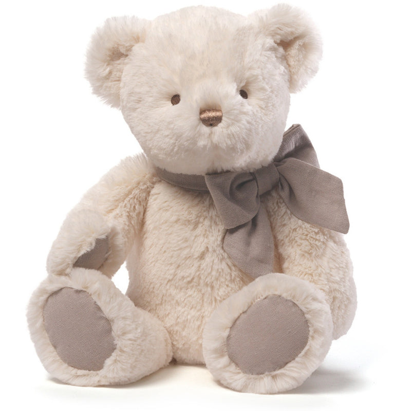 "Gund Amandine Cream Bear 15"" - Baby and Infant Plush Items - Anglo Dutch Pools and Toys"