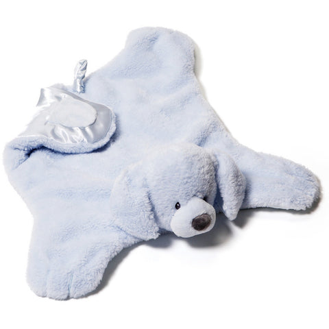 "Gund Comfy Cozy Fluffey Blue Dog 24"" - Baby and Infant Plush Items - Anglo Dutch Pools and Toys"