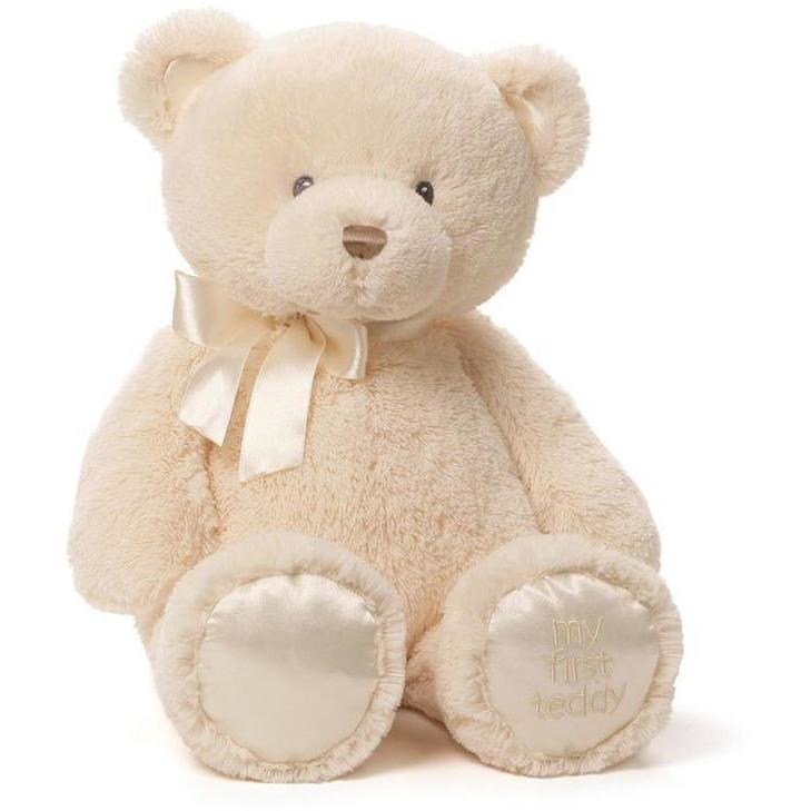Gund My 1st Teddy Cream 18""