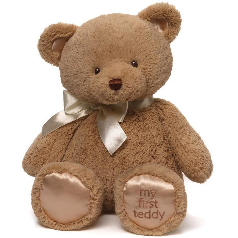 Gund My 1st Teddy Tan 18""