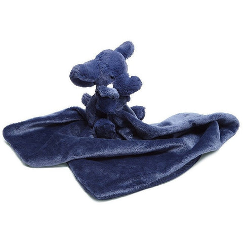 "Jellycat Bashful Elephant Soother 13"" - Baby and Infant Plush Items - Anglo Dutch Pools and Toys"