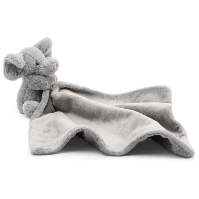 Baby And Infant Plush Items - Jellycat Bashful Grey Elephant Soother 13""