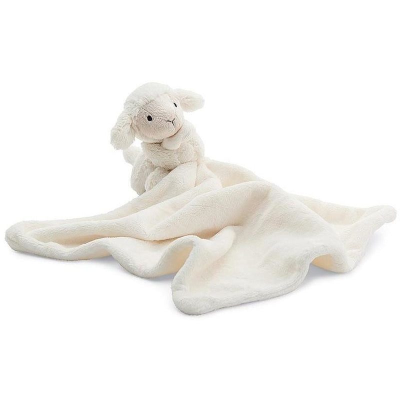 "Jellycat Bashful Lamb Soother 13"" - Baby and Infant Plush Items - Anglo Dutch Pools and Toys"