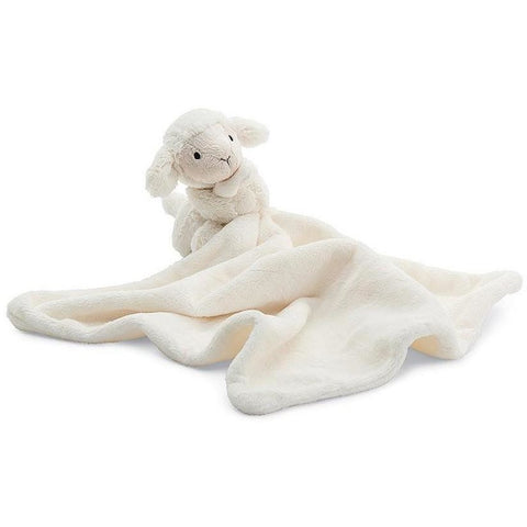 "Jellycat Bashful Lamb Soother 13""- - Anglo Dutch Pools & Toys"