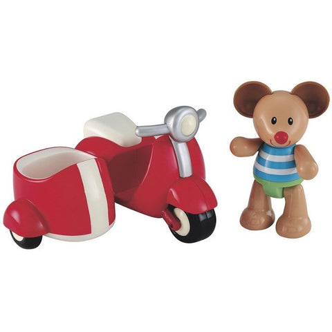 Toybox Max Mouse and his Scooter - Baby and Infant Toys - Anglo Dutch Pools and Toys