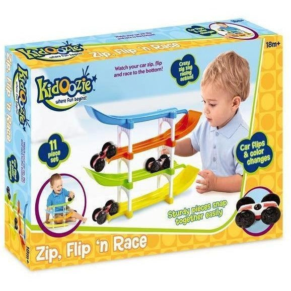 Kidoozie Zip, Flip 'n Race Set