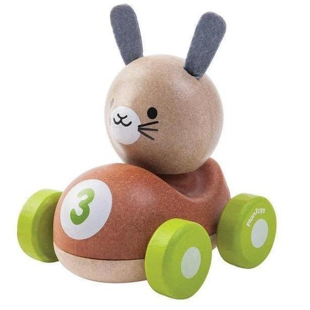 Baby And Infant Toys - Plan Toys Bunny Racer