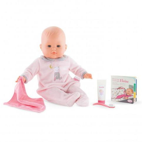 Baby Dolls - Corolle Eloïse Goes To Bed Doll Set 14""