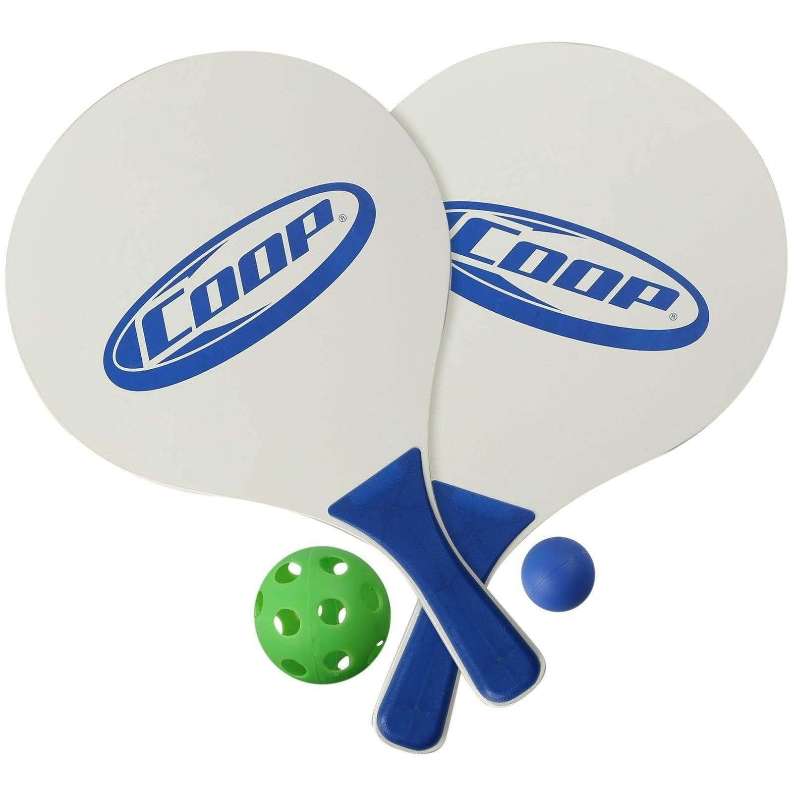 coop sport paddle pickle ball set backyard fun and games