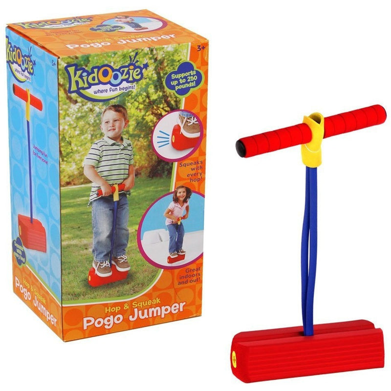 Kidoozie Hop & Squeak Pogo Jumper- - Anglo Dutch Pools & Toys  - 1