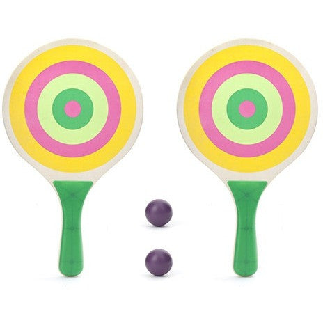 Kikkerland Paddle Ball Set - Backyard Fun and Games - Anglo Dutch Pools and Toys