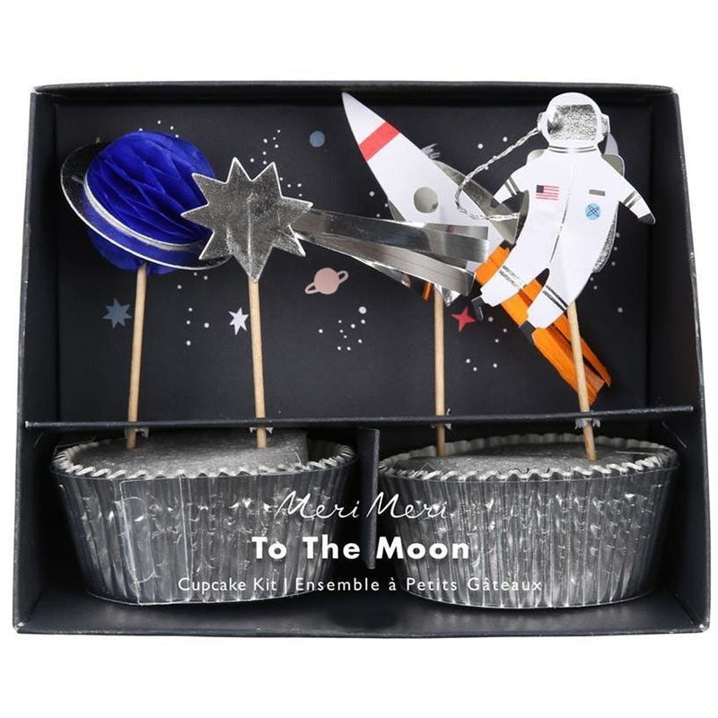 Baking Products - Meri Meri Space Cupcake Kit