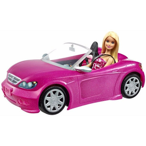 Barbie Doll & Glam Convertible - Barbie and Disney Princesses - Anglo Dutch Pools and Toys