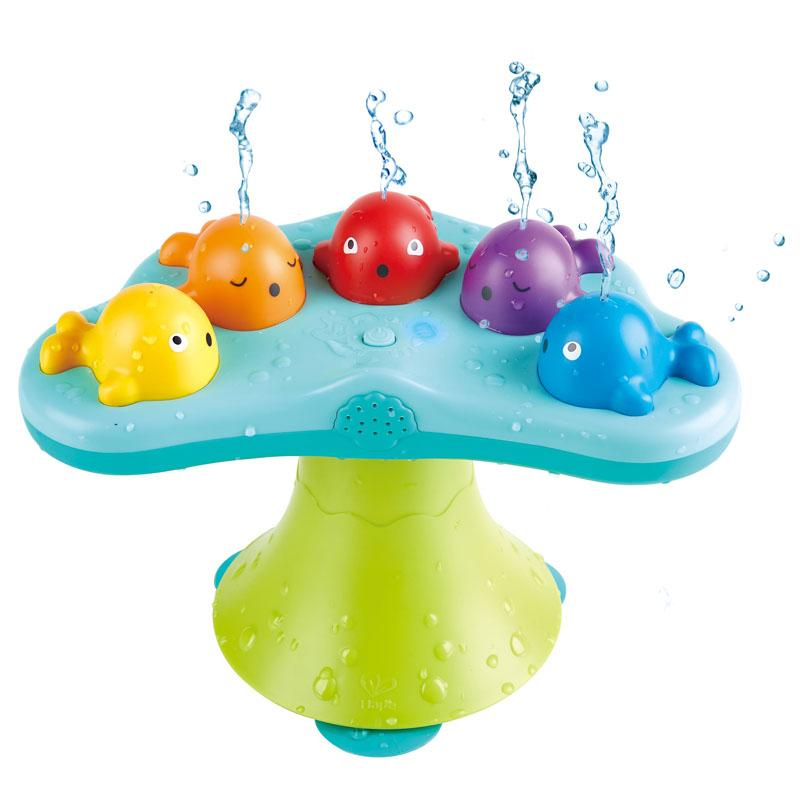 Bath Toys - Hape Musical Whale Fountain