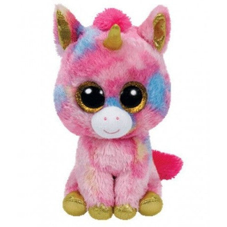 "TY Beanie Boos Fantasia the Unicorn Small 6"" - Beanie Boos - Anglo Dutch Pools and Toys"