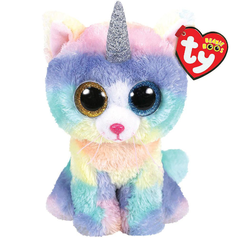 Beanie Boos - TY Beanie Boos Heather The Unicat Small 6""