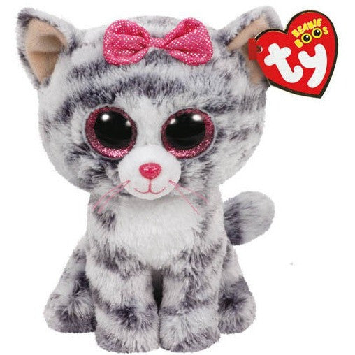 "TY Beanie Boos Kiki the Cat Small 6""- - Anglo Dutch Pools & Toys"