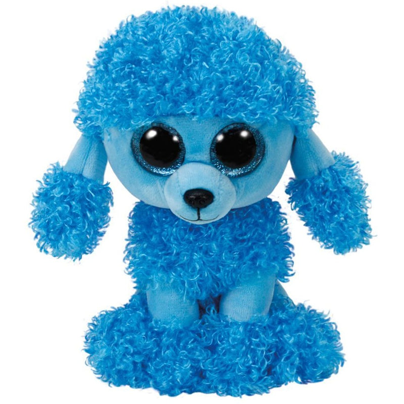 TY Beanie Boos Mandy the Blue Poodle Small 6""