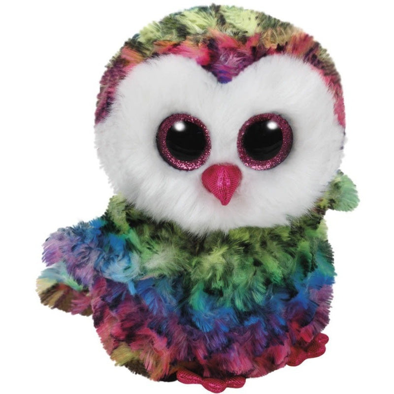 Beanie Boos - TY Beanie Boos Owen The Owl Small 6""