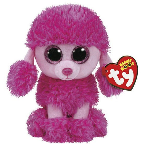 "TY Beanie Boos Patsy the Poodle Small 6""- - Anglo Dutch Pools & Toys"