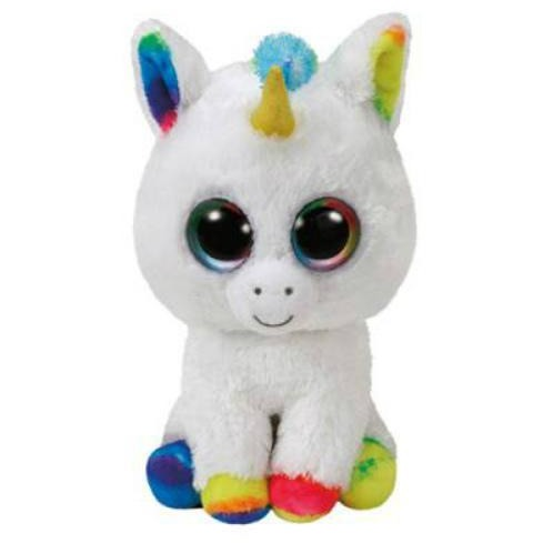 TY Beanie Boos Pixy the Unicorn Small 6""