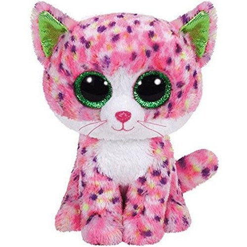 "TY Beanie Boos Sophie Pink Polka Dot Cat Small 6"" - Beanie Boos - Anglo Dutch Pools and Toys"