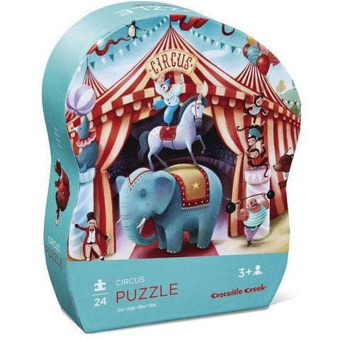 Beginner Puzzles - Crocodile Creek Circus Mini Puzzle- 24 Pc