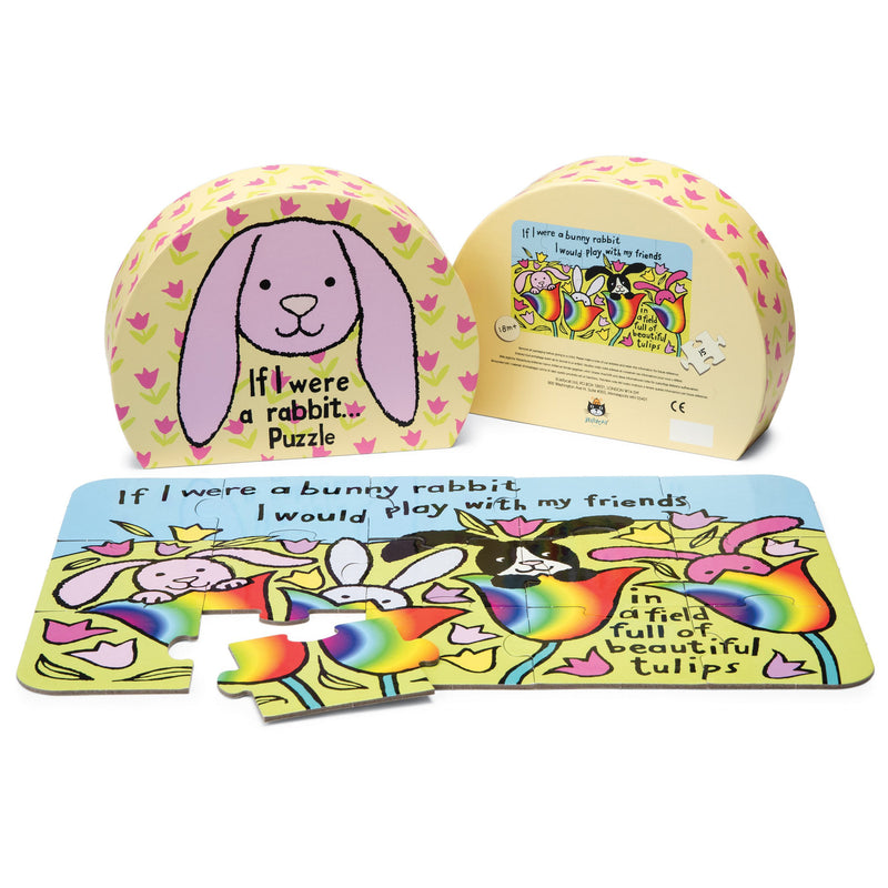 Beginner Puzzles - Jellycat If I Were A Rabbit Puzzle