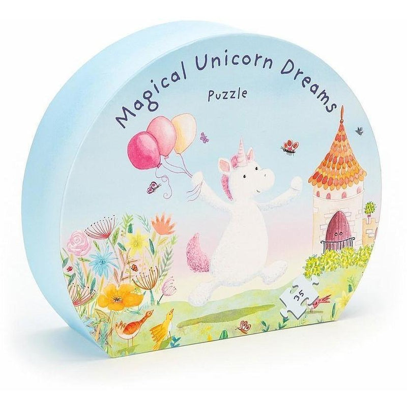 Beginner Puzzles - Jellycat Magical Unicorn Dreams Puzzle