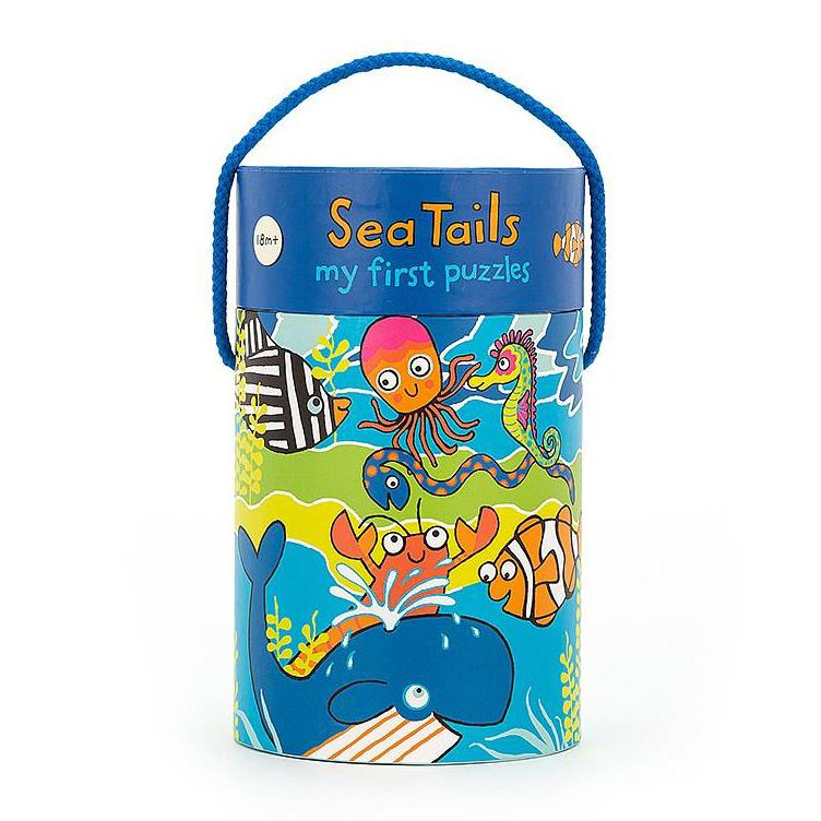 Beginner Puzzles - Jellycat Sea Tails Puzzle