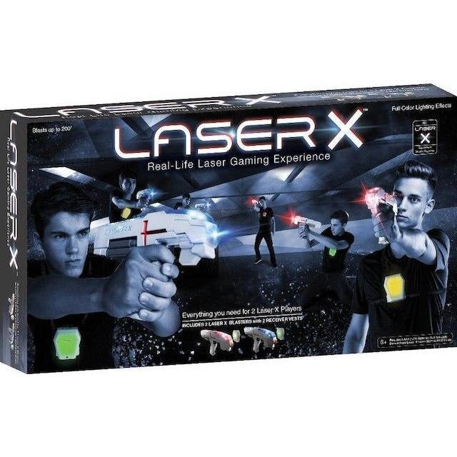 Laser X Real-Life Laser Gaming Experience Double Set
