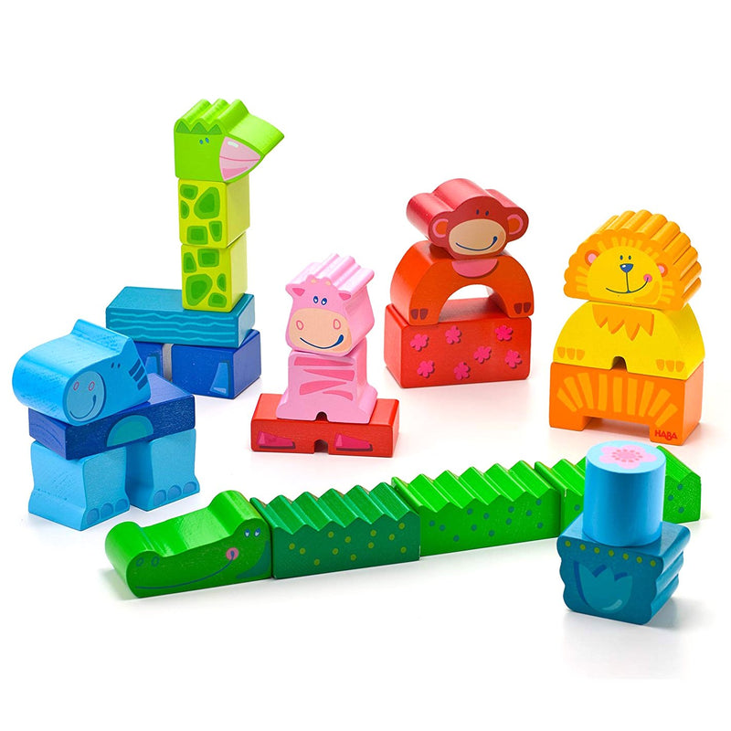 Blocks And Bricks - HABA Zippity Zoo Blocks