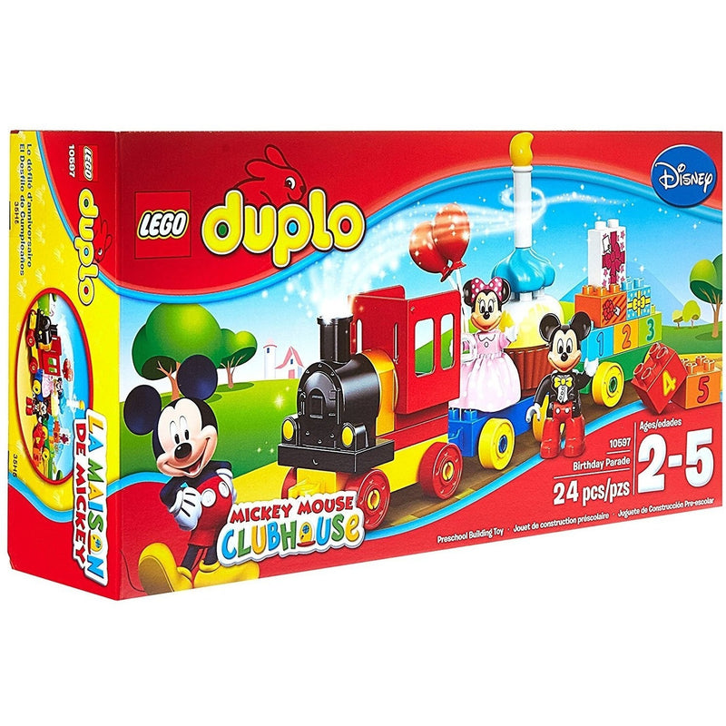 Blocks And Bricks - LEGO 10597 Duplo Mickey & Minnie Birthday Parade